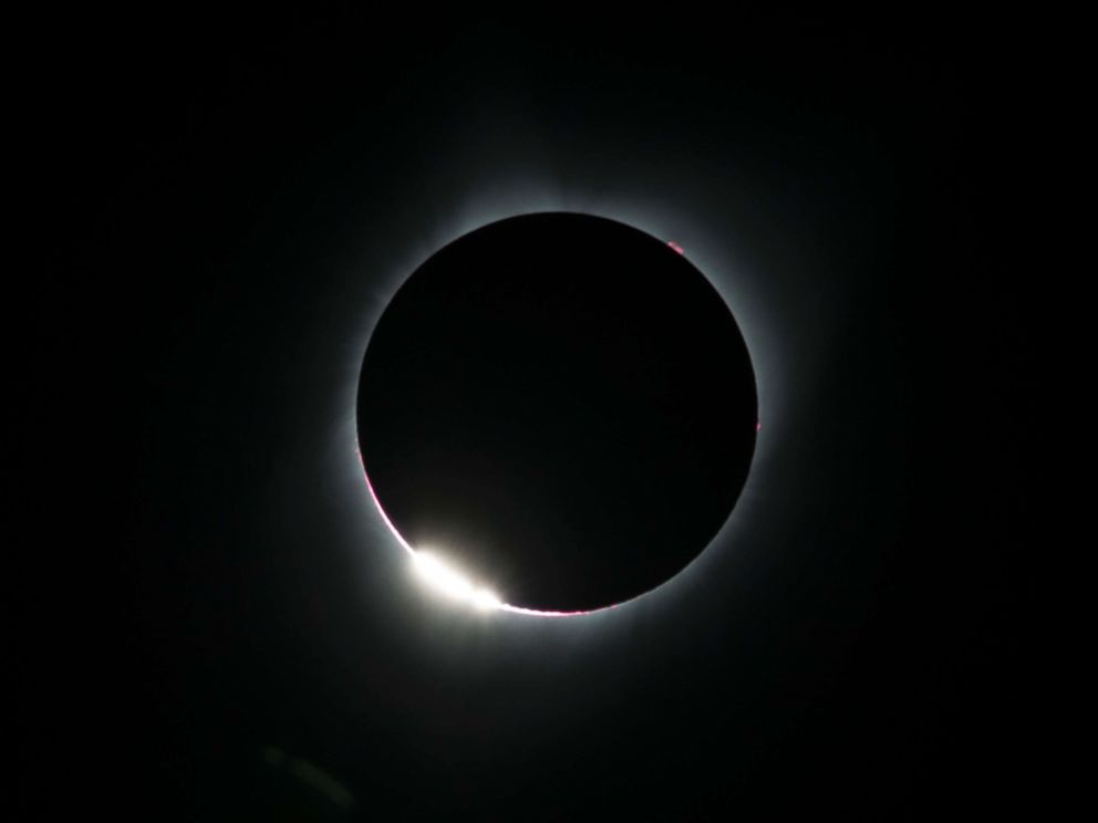 What Is The White Ring Total Solar Eclipse