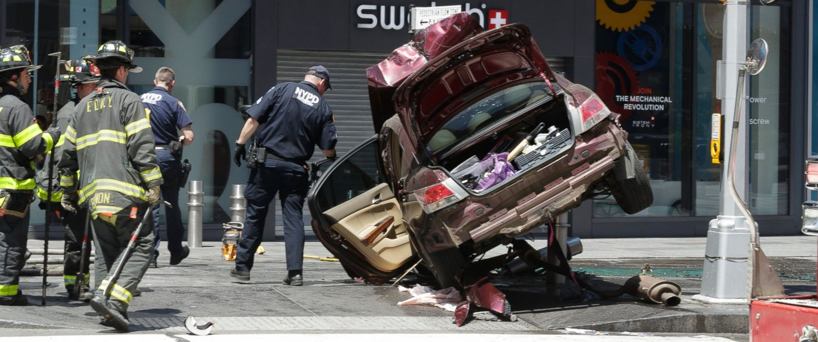 Woman Killed 22 Injured After Car Plows Into Pedestrians