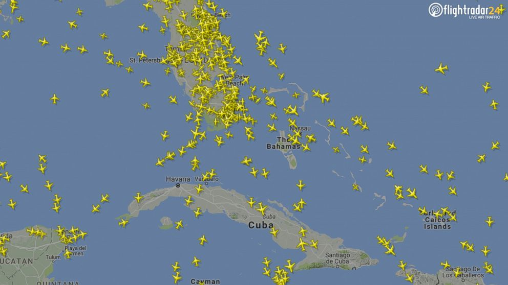 Cool Realtime Map Of Live Air Traffic Worldwide Featured - Us air traffic map