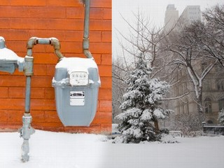 gas in winter