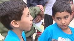 PHOTO: 7-year-old twin boys forced a car thief to pull over after attacking him, claim police.