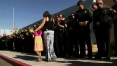 VIDEO: Phoenix kindergartener's dad was killed in the line of duty days before her graduation.
