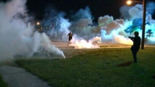 gma smoke bombs ferguson jc 140814 16x9 608 Lawmakers Rip Ferguson Police Response to Protesters
