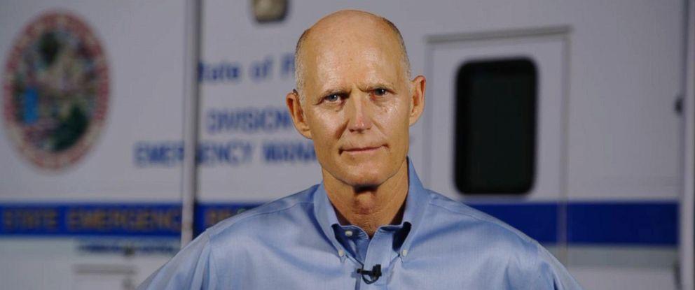 "PHOTO: Florida Gov. Rick Scott speaks to ABCs ""Good Morning America,"" Sept. 6, 2017."