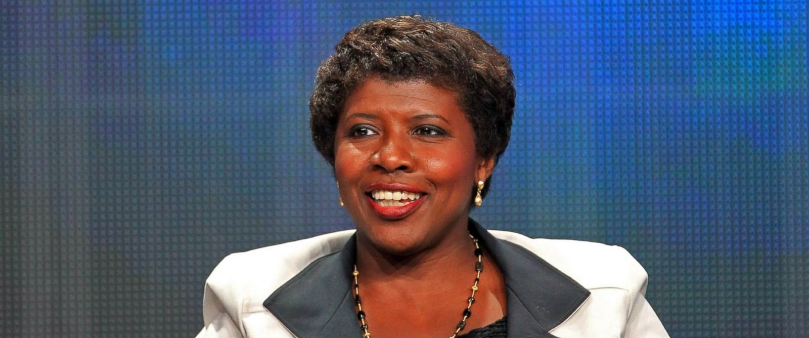 PHOTO: PBS news anchor Gwen Ifill speaks during the 2012 Summer TCA Tour held at the Beverly Hilton Hotel on July 22, 2012 in Los Angeles