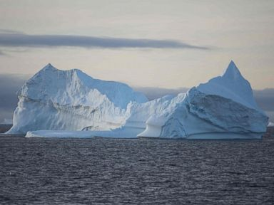 PHOTO: This file photo taken on March 2, 2016 shows an iceberg in the western Antarctic peninsula.