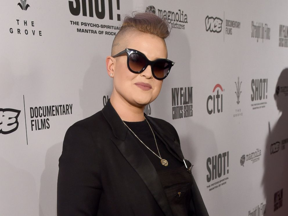 PHOTO: Kelly Osbourne attends the screening for SHOT! The Psycho Spiritual Mantra of Rock at The Grove presented by CITI on April 5, 2017 in Los Angeles.