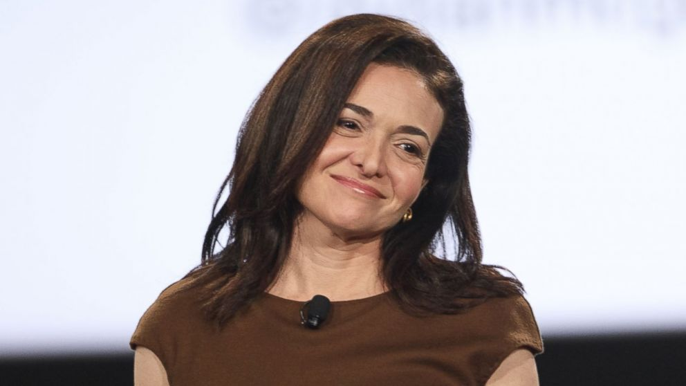 PHOTO: Sheryl Sandberg, billionaire and chief operating officer of Facebook Inc., arrives on stage during the 2017 MAKERS Conference in Rancho Palos Verdes, Calif., Feb. 7, 2017.