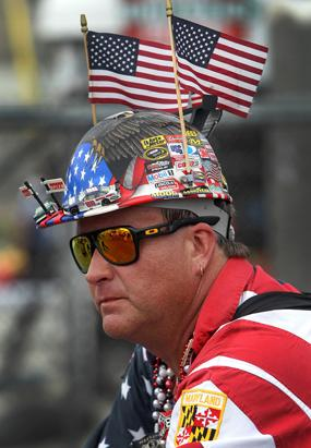 NASCAR Fans Wackiest Fashion