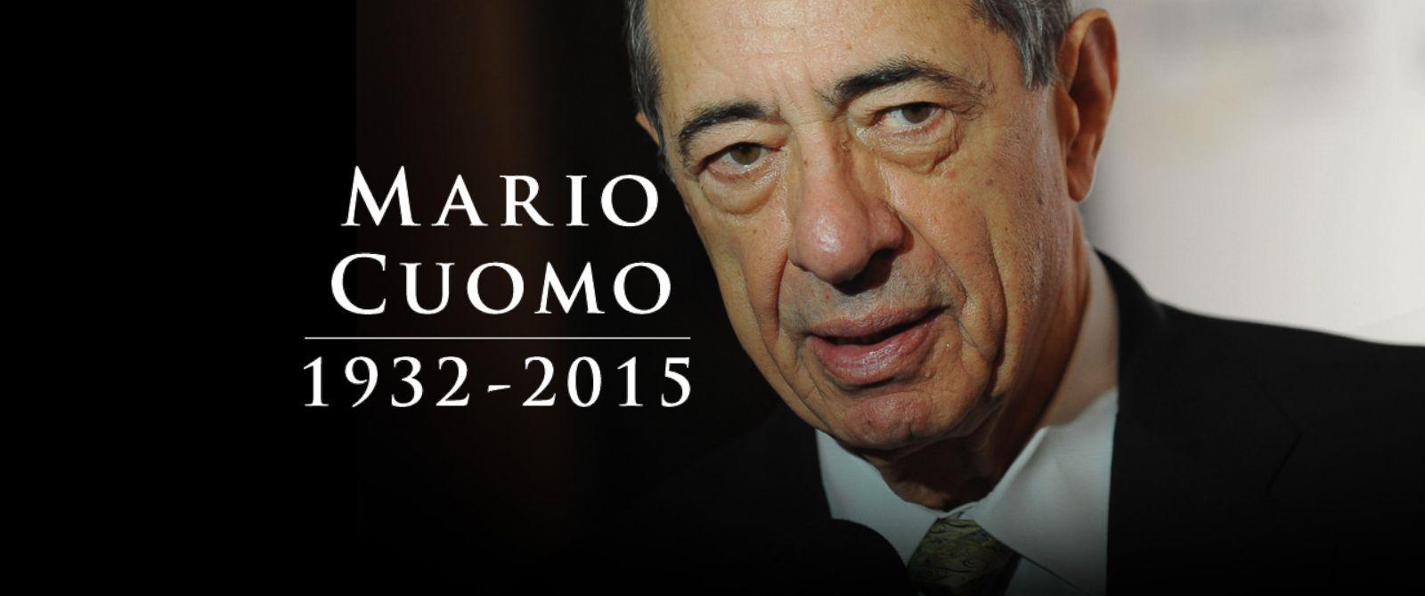 PHOTO: Mario Cuomo, 1932-2015