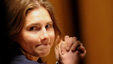 PHOTO: Amanda Knox is seen in court on March 12, 2011 in Perugia, Italy.