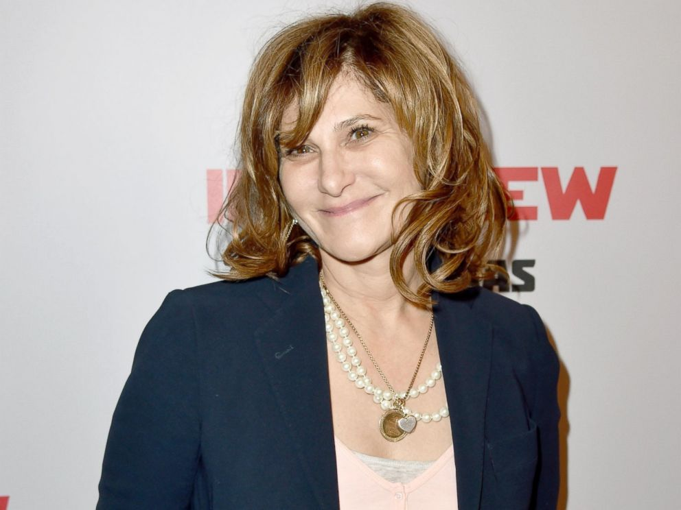 PHOTO: Co-Chairman of Sony Pictures Entertainment Amy Pascal attends the Premiere of Columbia Pictures The Interview at The Theatre at Ace Hotel Downtown LA on Dec. 11, 2014 in Los Angeles, Calif.