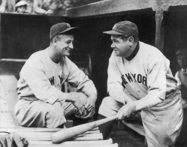 gty babe ruth 10 gehrig kb 130710 blog Babe Ruth Back in the Day