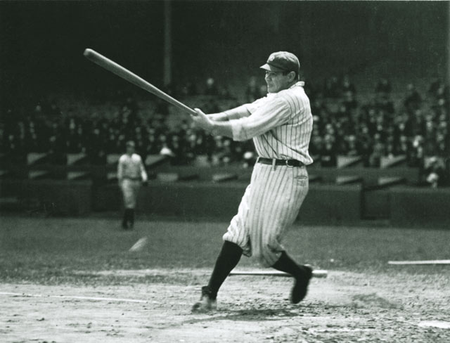 gty babe ruth 7 bat kb 130710 blog Babe Ruth Back in the Day