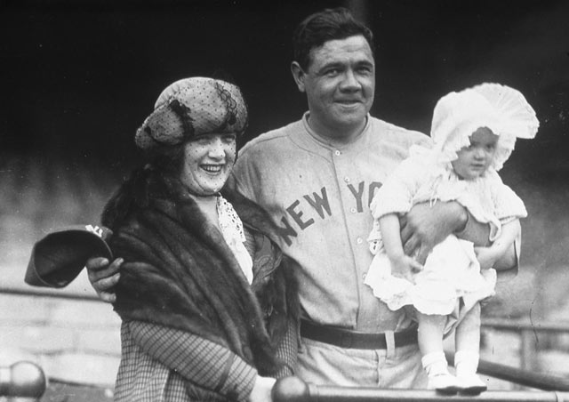 gty babe ruth 9 wife kb 130710 blog Babe Ruth Back in the Day