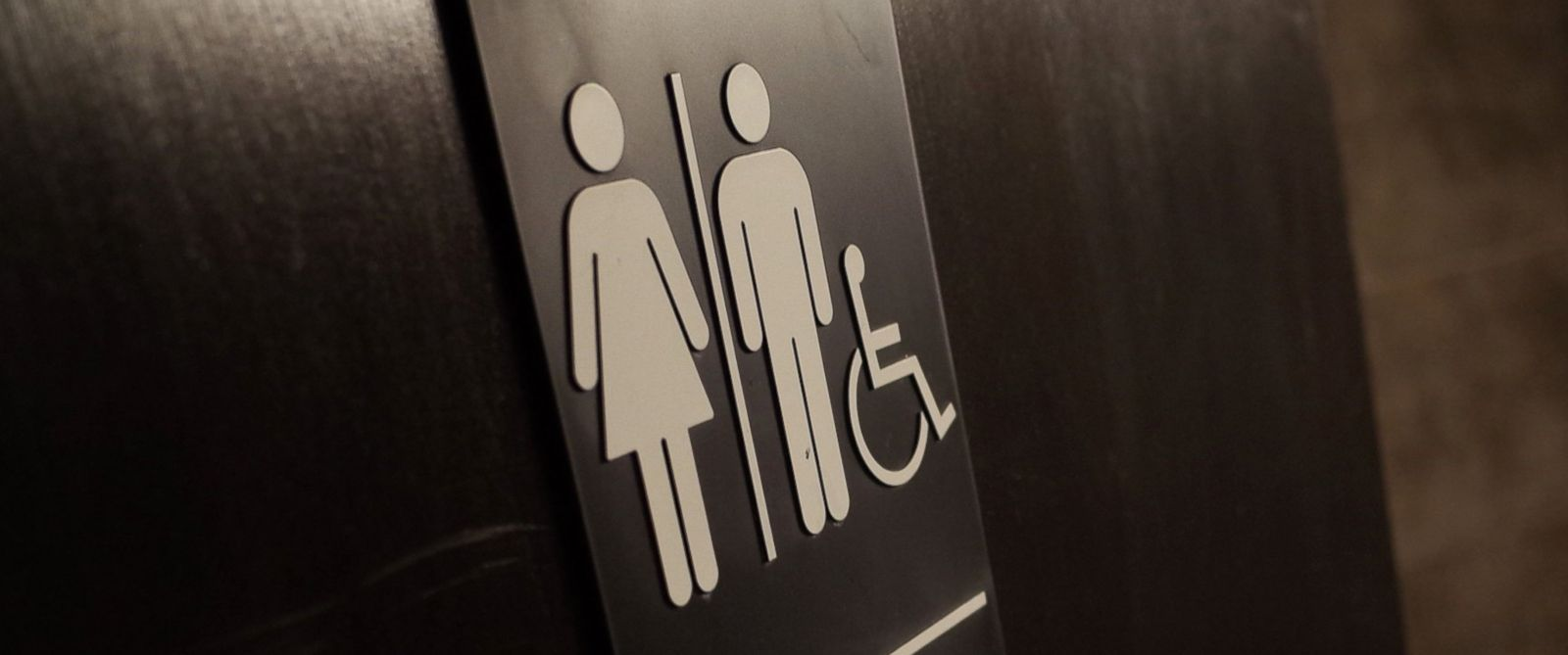 PHOTO: A gender neutral bathroom is seen at a coffee shop in Washington, D.C., on May 5, 2016.