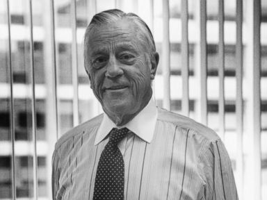 PHOTO: Portrait of former Washington Post Executive Editor, journalist Ben Bradlee, Washington DC, 1994.