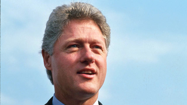 PHOTO: President Bill Clinton is shown Oct. 21, 1992 in Colorado.