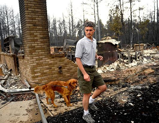 Colorado Fires Destroy Homes