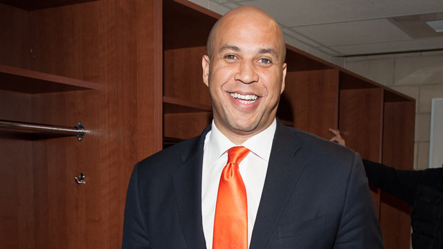 PHOTO: Newark Mayor Cory Booker, Jan. 23, 2012 in Newark, New Jersey.