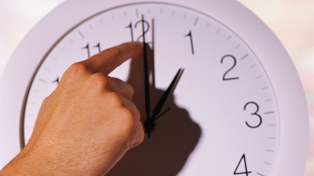 PHOTO: Daylight Savings Time Ends: Time to Fall Back