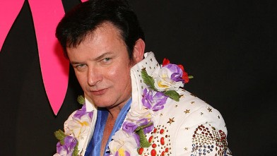 PHOTO: Elvis Presley impersonator Mike Russell of Arizona.
