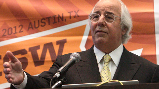 PHOTO: Frank Abagnale speaks onstage at Catch Me If You Can: Frank Abagnale 10 Years Later during the 2012 SXSW Music, Film + Interactive Festival at Austin Convention Center on March 10, 2012 in Austin, Texas.
