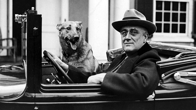 PHOTO: One of the most innovative and daring politicians of the 20th century was also a triskaidekaphobe. Franklin D. Roosevelt would not travel