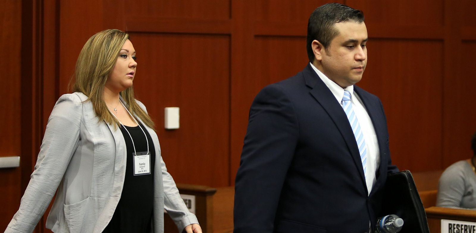 PHOTO: George Zimmerman and his wife Shellie