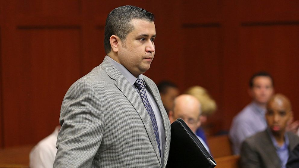 PHOTO: George Zimmerman at trial