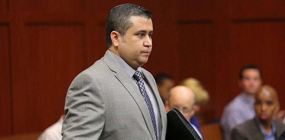 PHOTO: George Zimmerman at trial