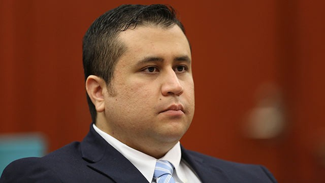 PHOTO: George Zimmerman listens as his defense counsel Mark OMara questions potential jurors for his trial in Seminole circuit court, June 20, 2013 in Sanford, Fla.