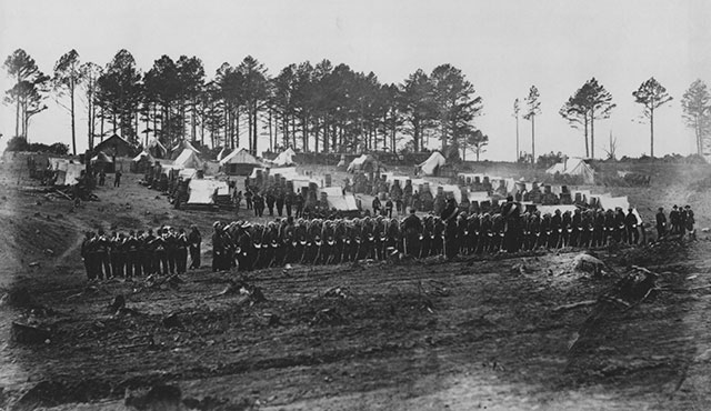 why the battle of gettysburg in 1863 was the turning point of the american civil war American history chapter 15 section 5 decisive battles study play siege- an attempt to capture a place by surrounding it with military forces and cutting it off.