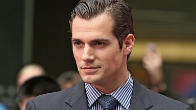 PHOTO: Actor Henry Cavill , Man of Steel premiere, china