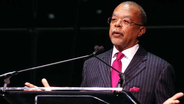 "PHOTO: Henry Louis Gates, Jr. speaks at the premiere screening of ""Faces of America"" on February 1, 2010 in New York City."