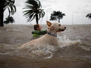 Photos: Hurricane Isaac Hits Land With Force