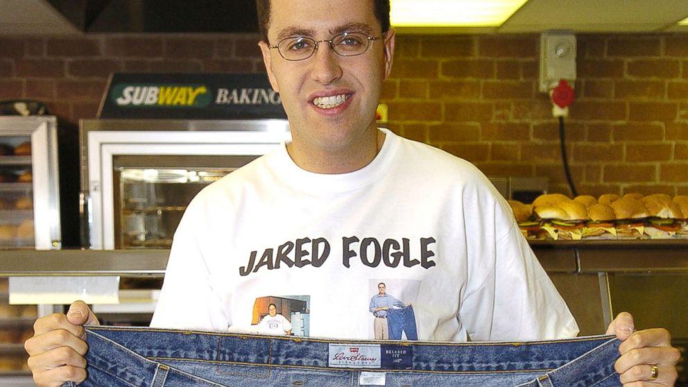 Subway spokesman jared fogle s home searched by fbi abc news