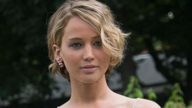 PHOTO: Actress Jennifer Lawrence is photographed at Fashion Week in Paris, France on July 7, 2014.