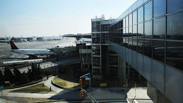 PHOTO: JFK International Airport is seen, Feb. 28, 2013, in the Queens borough of New York City.