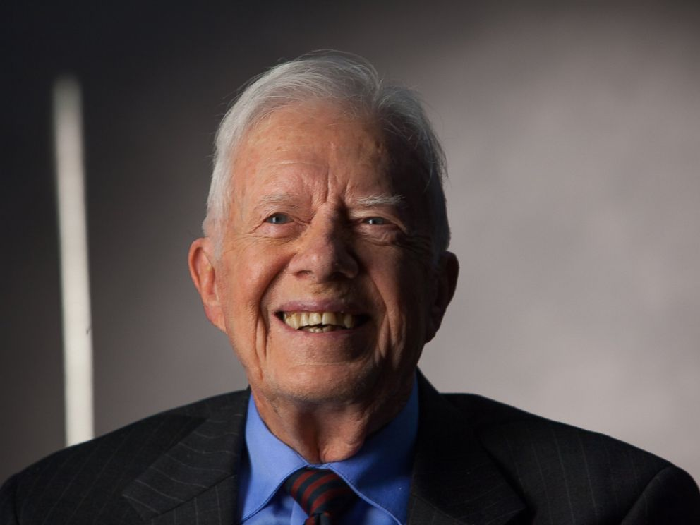 PHOTO:Former President Jimmy Carter is seen in this file photo, Sept. 14, 2011, in Atlanta.