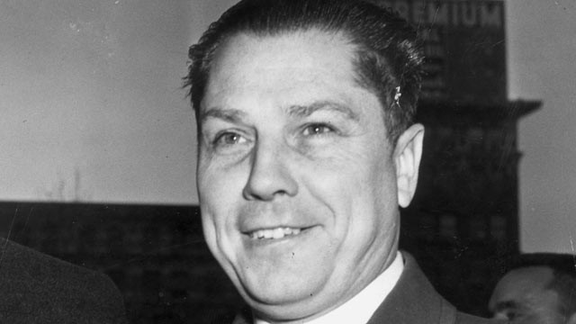 Jimmy Hoffa Teamster Labour Union Boss