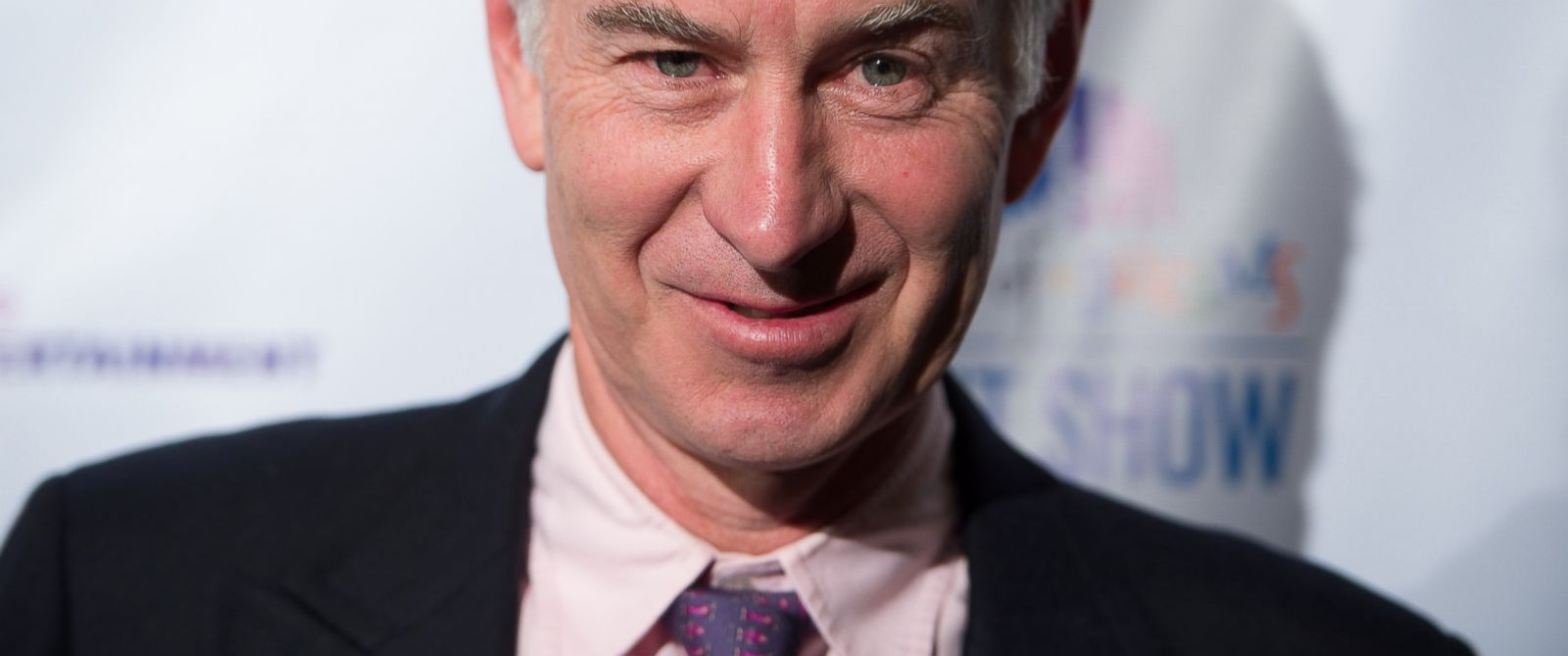 "PHOTO: John McEnroe attends 2014 ""Garden of Dreams Hero"" awards and talent show at Radio City Music Hall on June 17, 2014 in New York City."