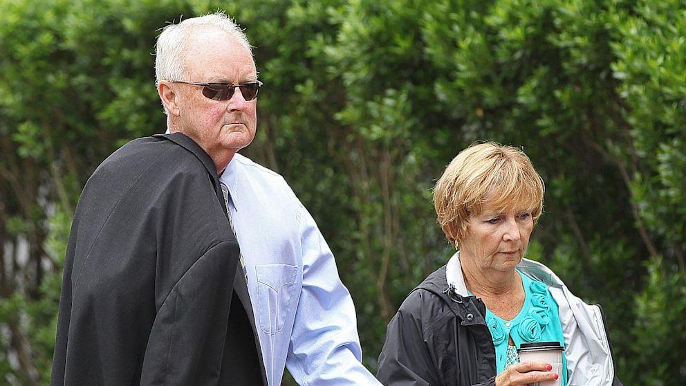 "PHOTO: John Morris enters court for ""Whitey"" Bulger trial"