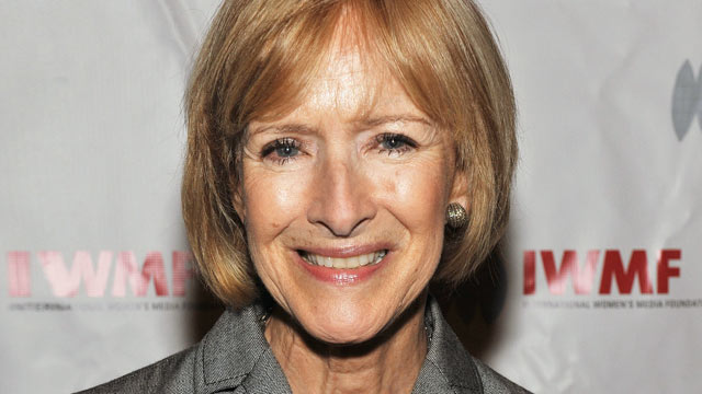 PHOTO: IWMF Courage Co-chair and PBS' journalist Judy Woodruff attends the 21st annual International Women's Journalism Foundation's Courage in Journalism awards.