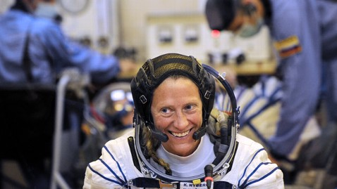 gty karen nyberg jt 130623 wblog Astronaut Attends High School Reunion From Space
