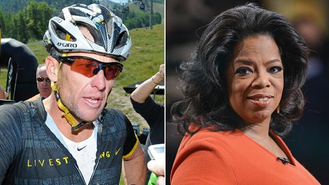 PHOTO: Lance Armstrong and Oprah Winfrey