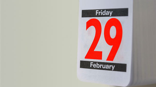 PHOTO: A leap year is a year containing one additional day in order to keep the calendar.