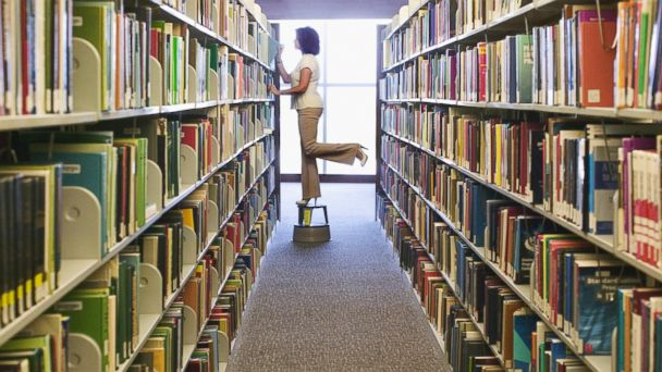 PHOTO: A librarian is seen in this undated stock photo.