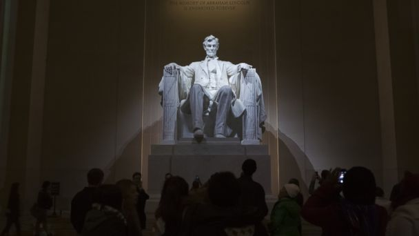 gty lincoln memorial ll 131119 16x9 608 150 Years Later, President Obama Reflects on Gettysburg Address