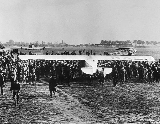 a paper on the flight of charles a lindbergh A year before his famous solo flight across the atlantic in may 1927, charles lindbergh made regular trips to west suburban maywood field, including one that almost cost him his life flying a mail plane and running out of fuel.